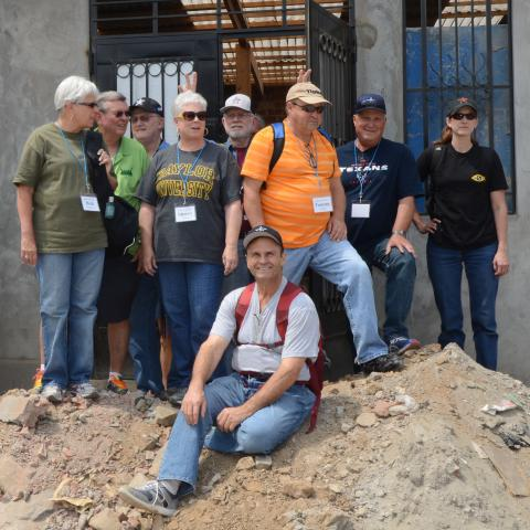 OSA volunteers on mission trip to Peru